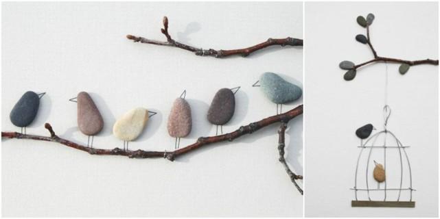 Arte con piedras pebble art - Manualidades con piedras de playa ...