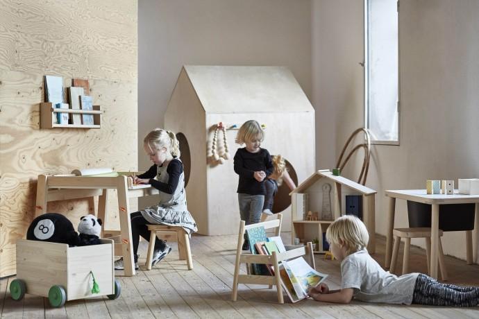 IKEA FLISAT nueva colección para niños de madera natural