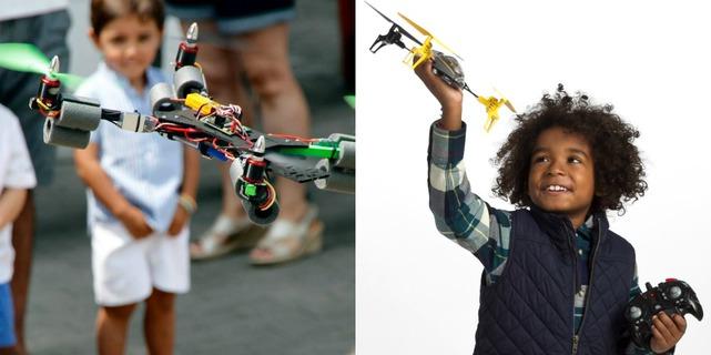 comprar-drone-a-un-nino