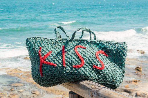 BOLSO CROCHET YUTE - KISS 5